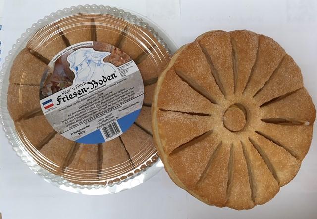 Blätterteigboden der Bäckerei Käpt'n Flindt © Petersen's Dauerbackwaren