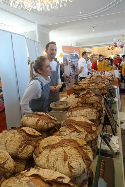 Aus Graz war Martin Auer mit seinem besten Brot nach Wien gekommen © f2m