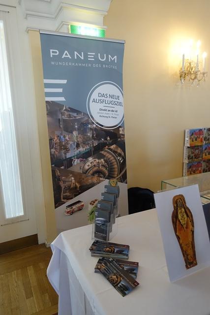 Das Brotmuseum Paneum aus Asten zeigt erstmals einige Exponate und lud zur Besichtigung ein © f2m