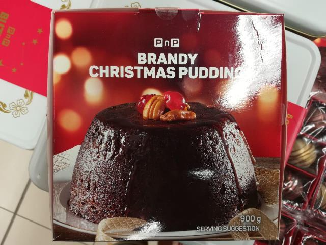 Typisches Weihnachtsdessert/gebäck in den Ländern des Commonwealth: Der Christmas Pudding © LennART